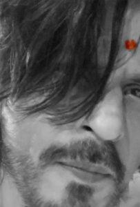 Shah Rukh Khan Shares A Black & White Selfie Post Ganpati Visarjan