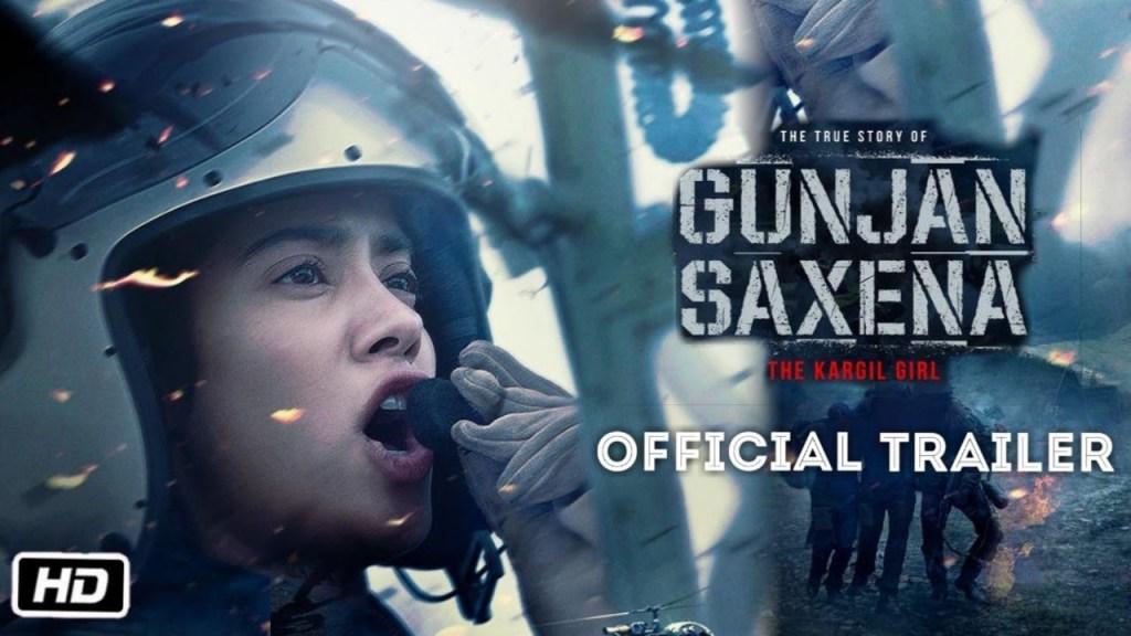 Gunjan Saxena The Kargil Girl Trailer Review Janhvi Kapoor Pankaj Tripathi Are All Set To Take Us High In The Sky Box Office Worldwide