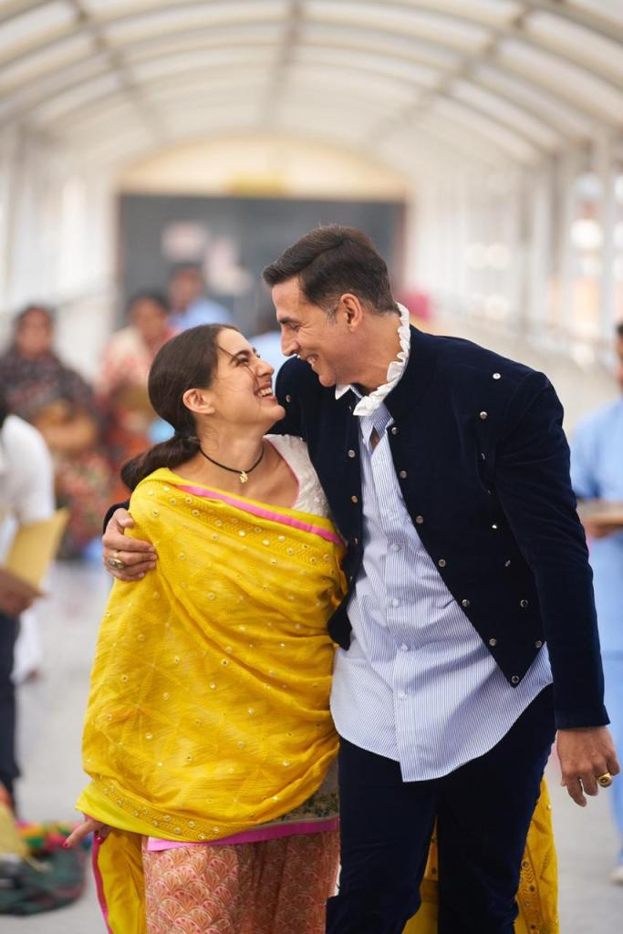 Atrangi Re: Check Out The New Glimpse Of Akshay Kumar And Sara Ali Kham From The Sets As The Shoot Begins