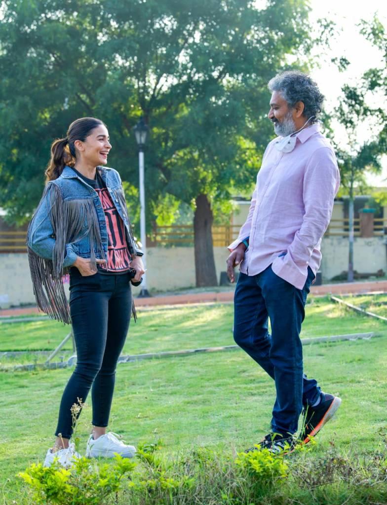 Alia Bhatt Starts Shooting For SS Rajamouli's RRR