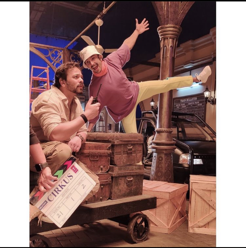Two Years Of Simmba: Ranveer Singh Shares A Fun BTS Picture With Rohit Shetty From The Sets Of Cirkus