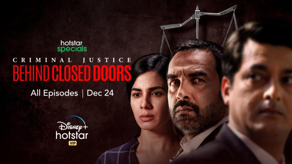 Hotstar Specials Releases Trailer Of Criminal Justice: Behind Closed Doors A Story Where The Answer Lies Beyond The Truth