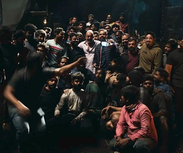 It's A Wrap For Sanjay Dutt For The Shoot Of KGF: Chapter 2 In Hyderabad