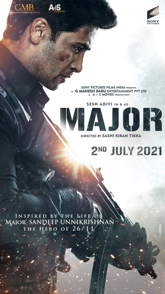 MAJOR, Based On Sandeep Unnikrishnan's Life Is Set To Release On 2nd July 2021