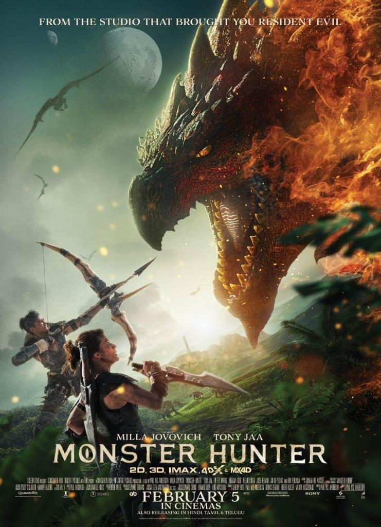 'Monster Hunter' By Sony Pictures Entertainment Is All Set To Release On 5th February, 2021!