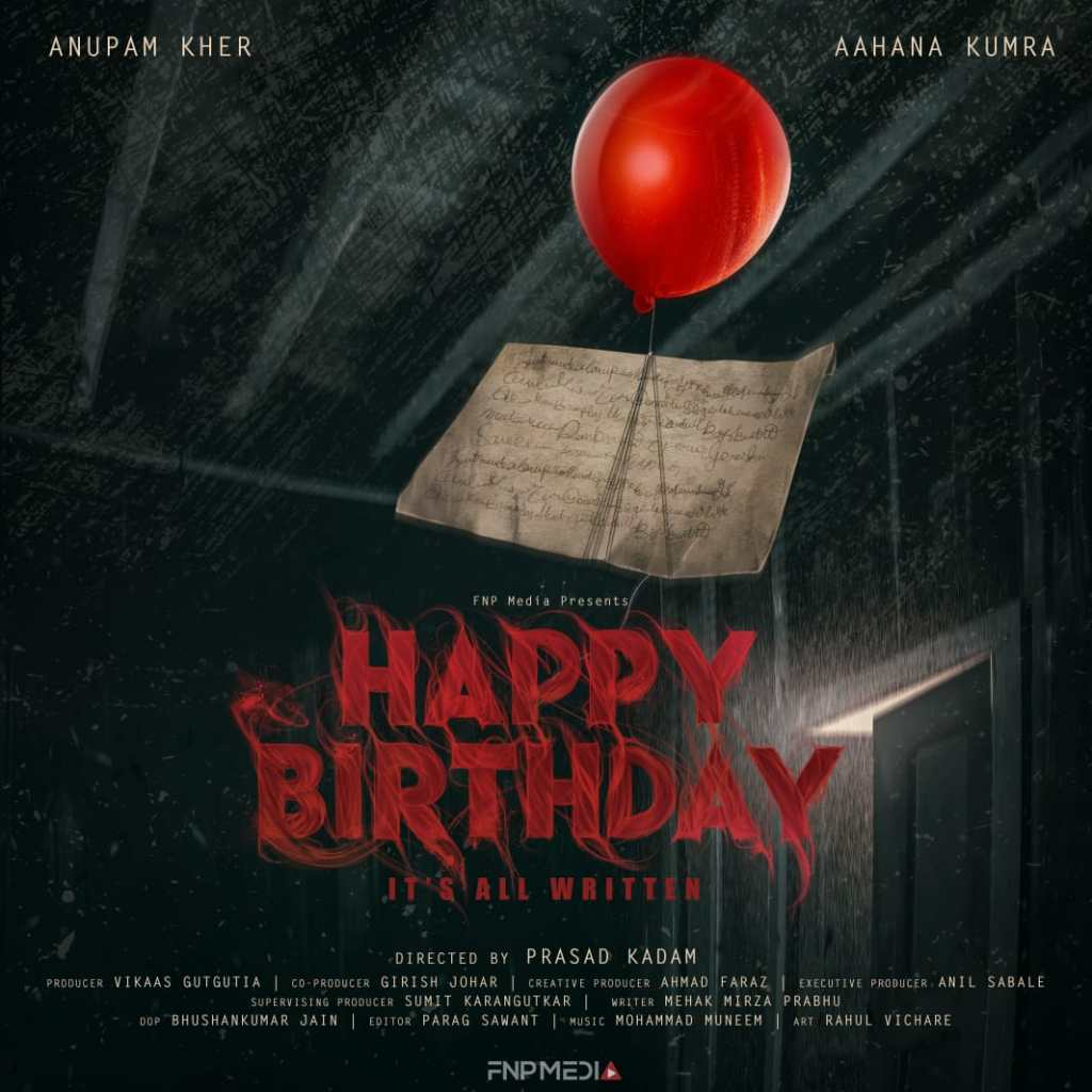 Anupam Kher And Aahana Kumra To Come Together For 'Happy Birthday'