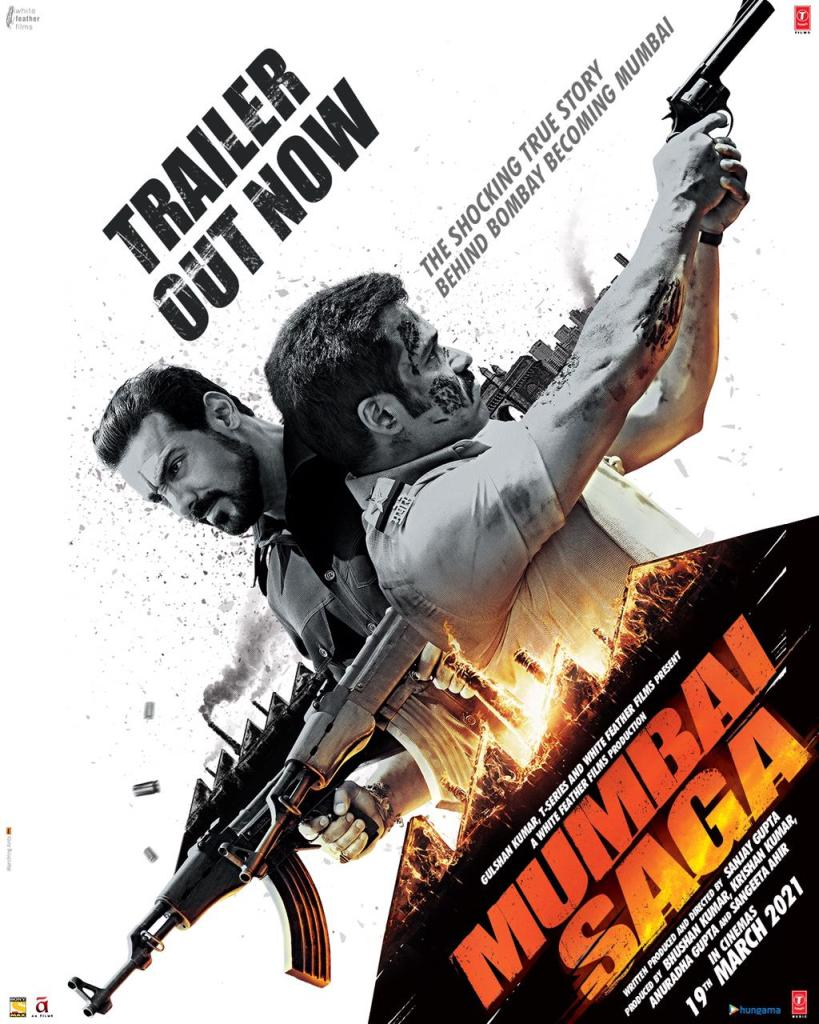 Mumbai Saga Trailer Review: It's John Abraham, The Gangster Vs Emraan Hashmi, The Cop & It Looks Intriguing!