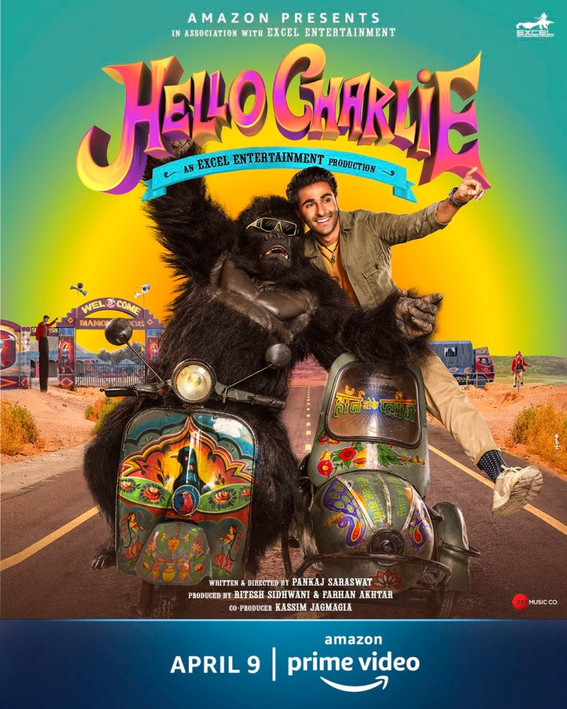 The Much-Awaited Adventure Comedy Hello Charlie To Release Exclusively On Amazon Prime Video on April 9, 2021