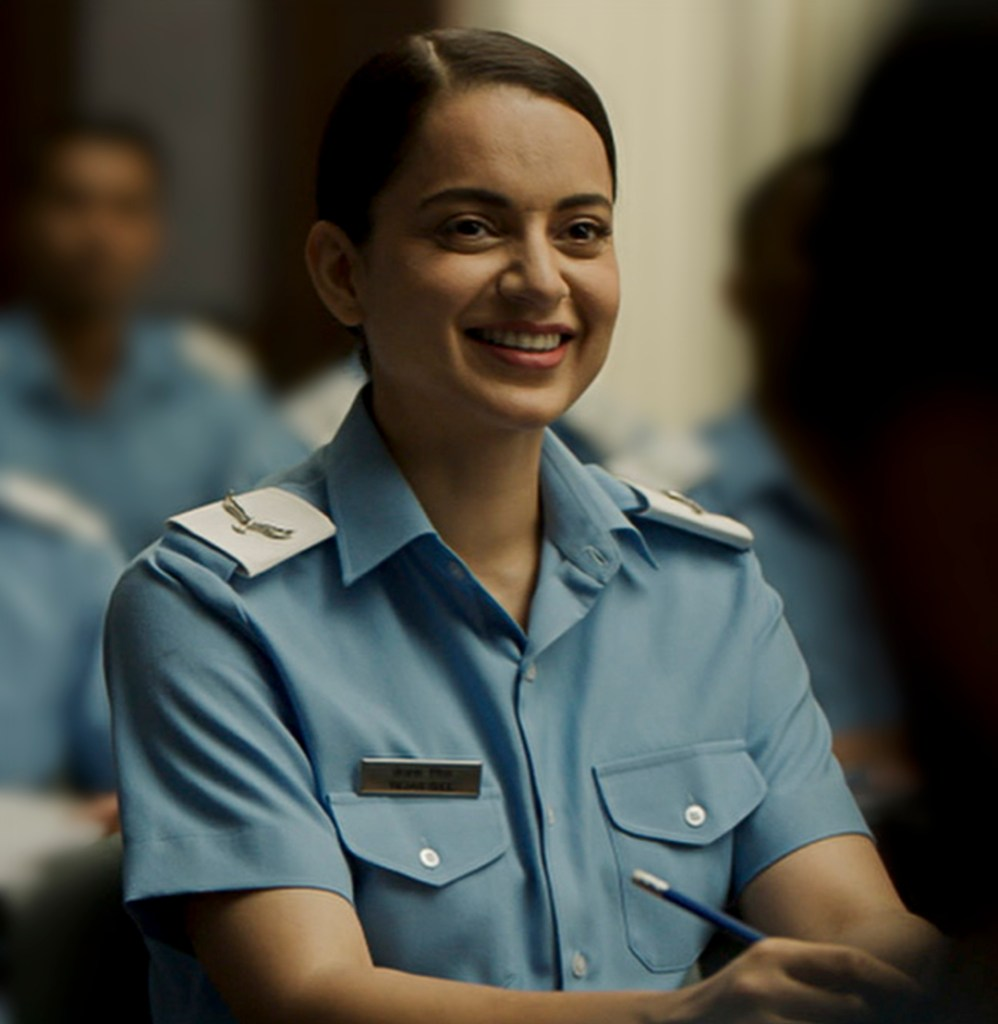 RSVP Movies Wishes Kangana Ranaut On Her Birthday With An Unseen Photo From Their Upcoming Film Tejas
