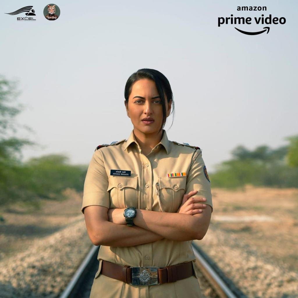 Amazon Prime Video With Excel Media & Entertainment & Tiger Baby Reveal The First Look Of Their Upcoming Series Featuring Sonakshi Sinha