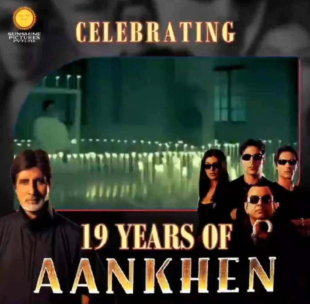 """19 Years Of Aankhen: """"When 'Aankhen' was getting made, a lot of people told me that it's going to be a supreme disaster"""" Informs Vipul Amrutlal Shah"""