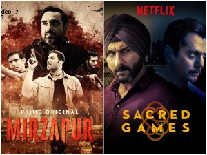 From 'Sacred Games' To 'Mirzapur', Shows Which Created The Hype But Were Actually Overrated!