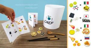 Montessori culinary activity: International Kid Chef by Kids Activities Designer Rodrigo Macias