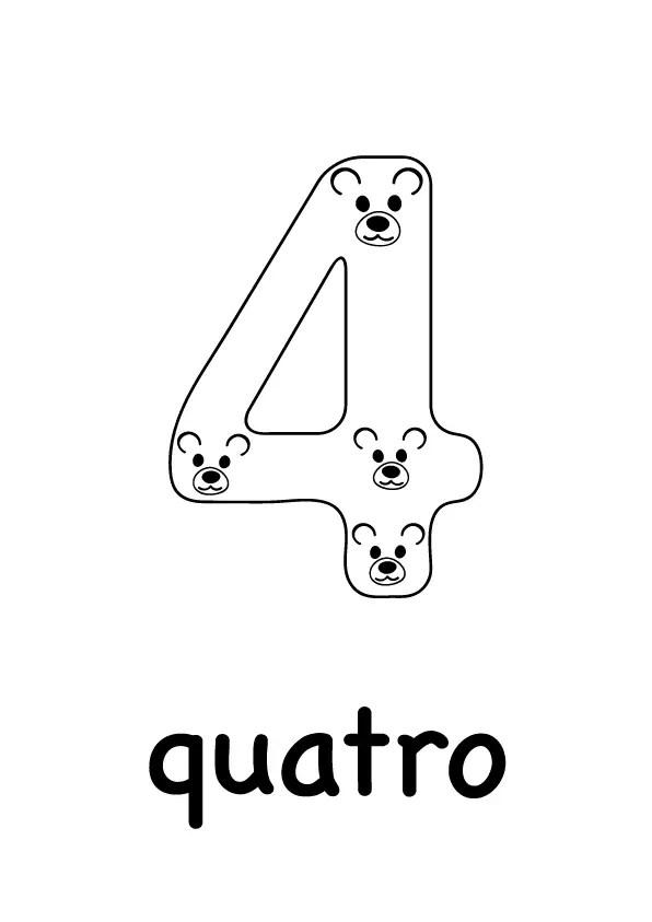 1-10-multilingual-animal-number-EIGHT-illustration-free