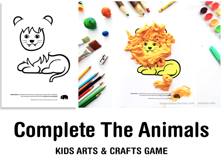 Cover facebook incomplete animals arts and crafts game for kids complete the animals game fun idea for an arts and crafts game where kids exercise thecheapjerseys Images