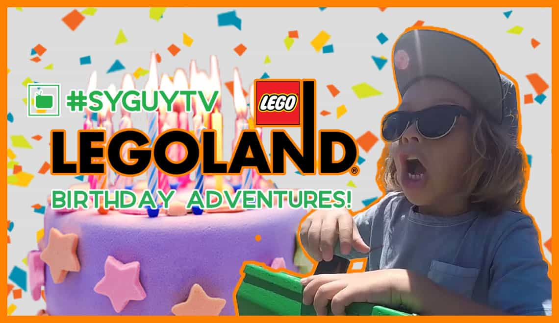 #SYGUYTV Visits Legoland California for Mommy's Birthday