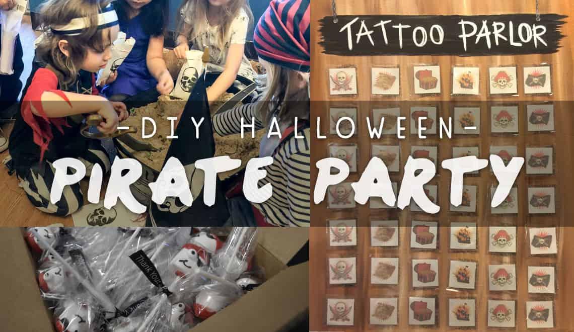 DIY Halloween Pirate Party Ideas
