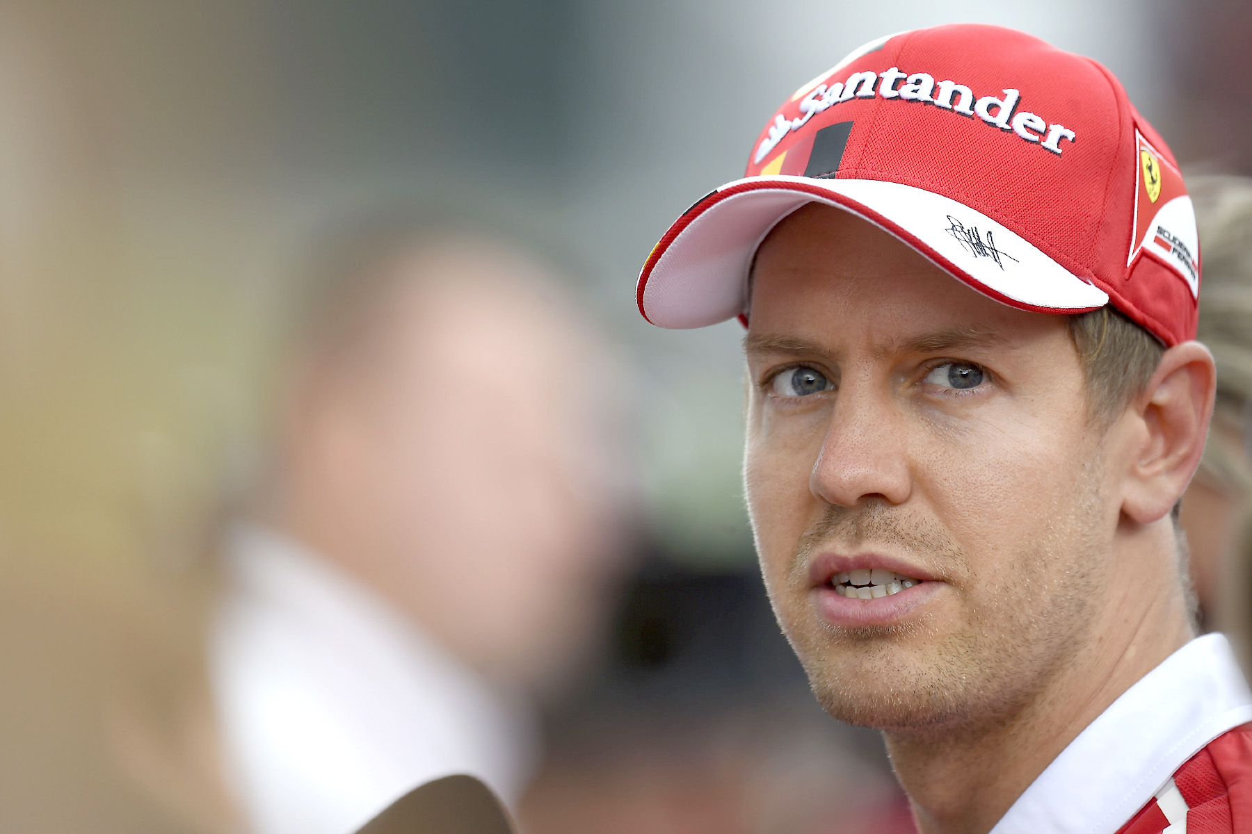 Sebastian Vettel at the Austrian Grand Prix.