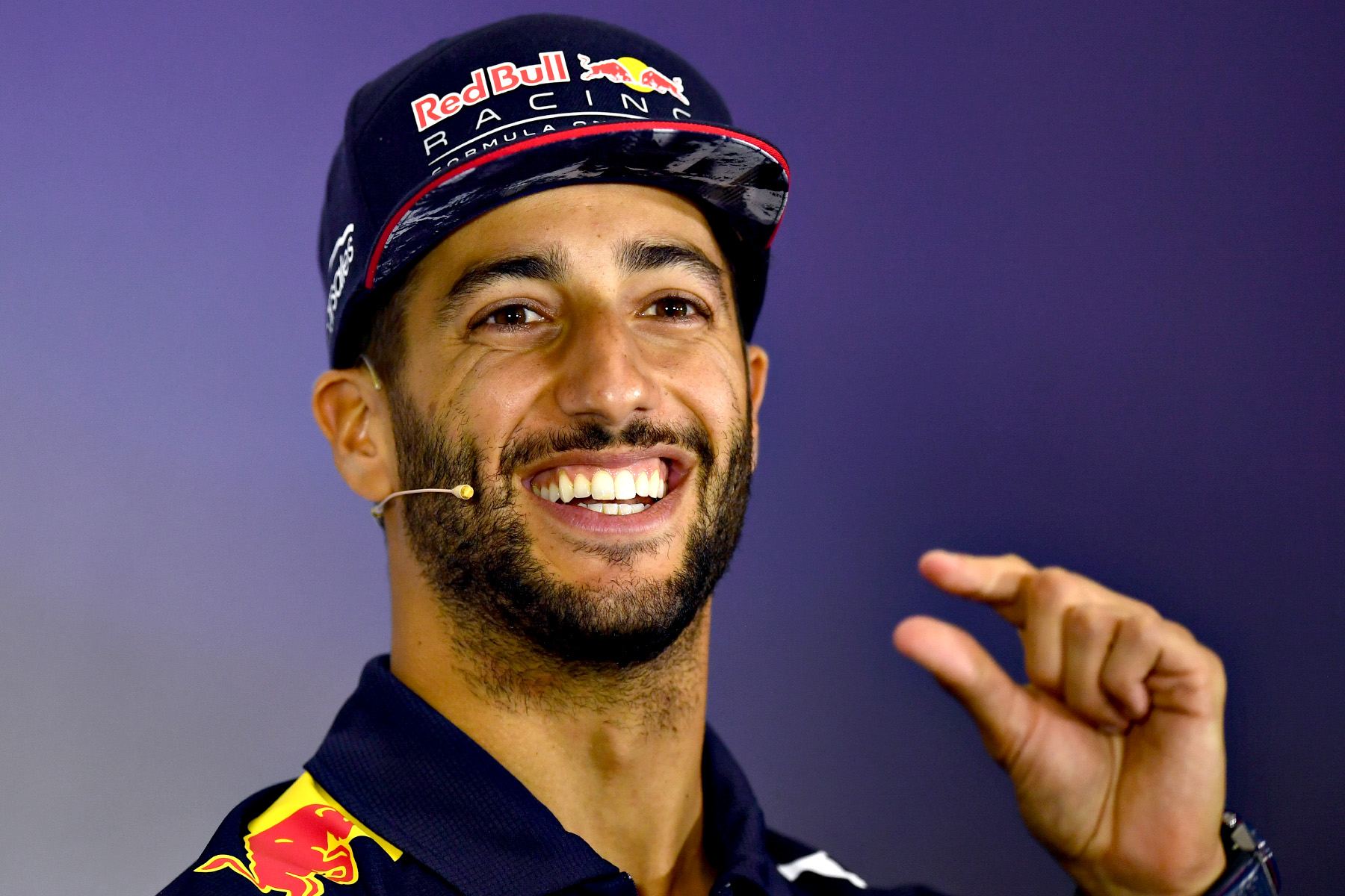 Daniel Ricciardo at the 2017 British Grand Prix.