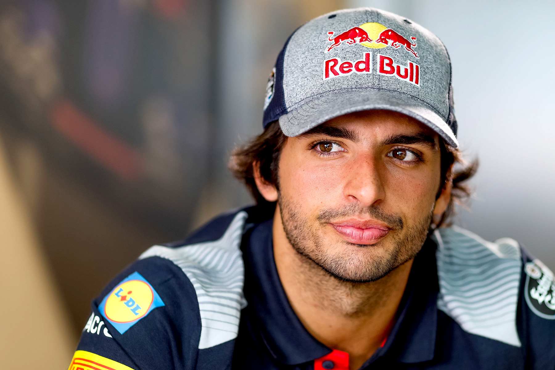 Carlos Sainz at the 2017 British Grand Prix.