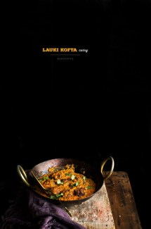 Lauki Kofta {Vegetarian Meatballs} Curry