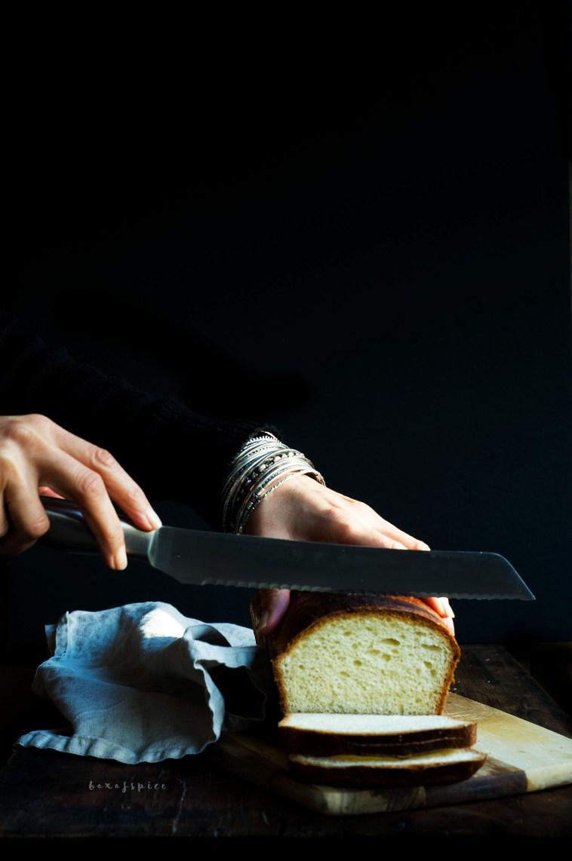 Brioche Loaf I Boxofspice