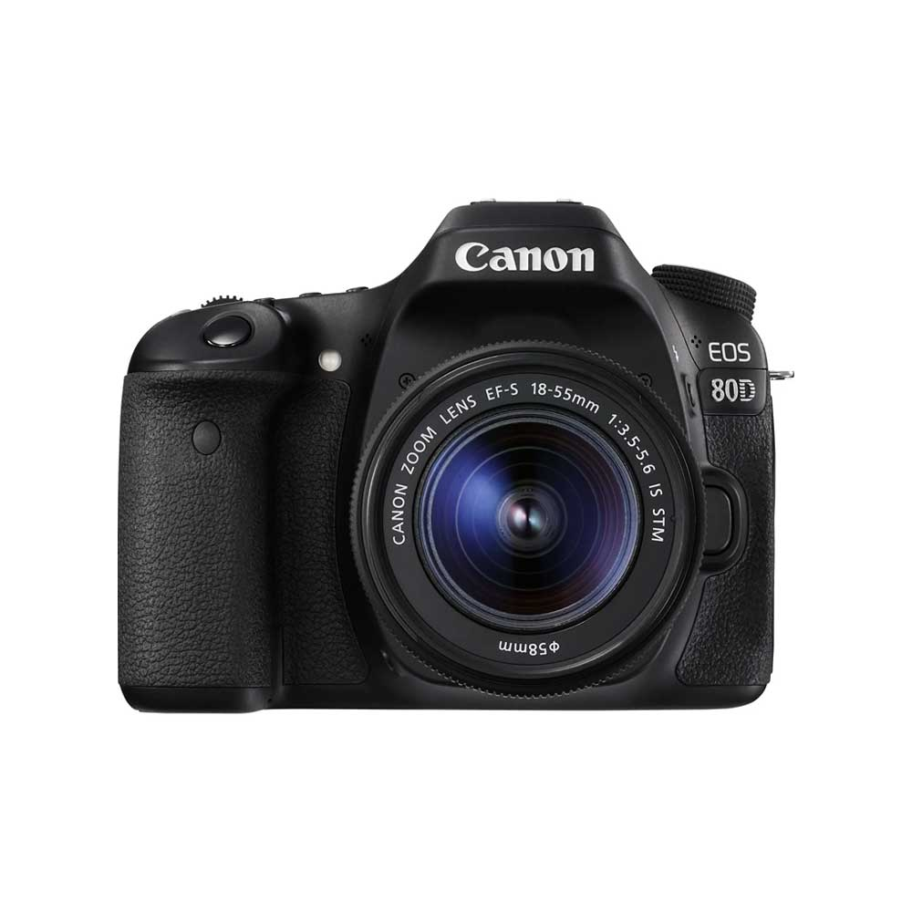 Canon EOS 80D Digital SLR with 18-55mm IS STM Lens