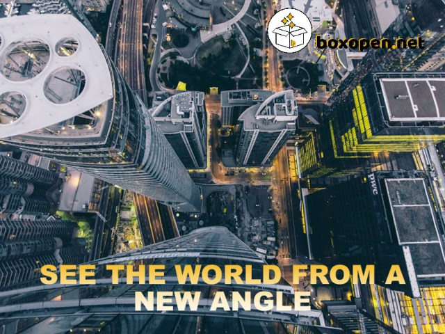 SEE THE WORLD FROM A NEW ANGLE WITH AERIAL PHOTOGRAPHY