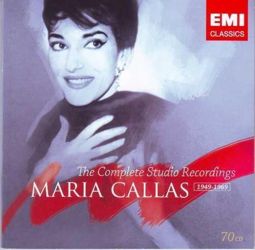 Maria Callas: The Complete Studio Recordings (70 CD box set, APE)
