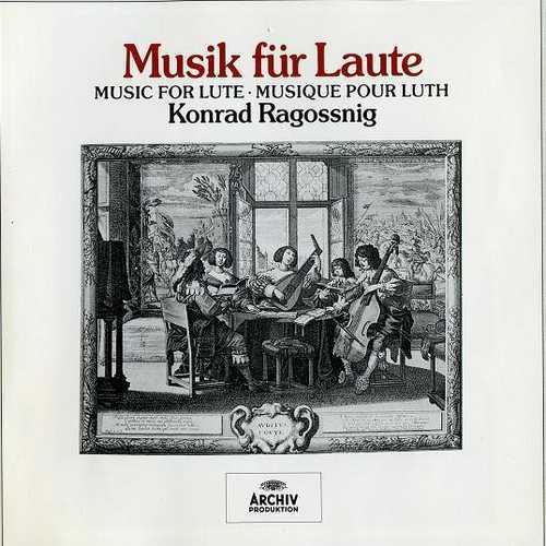 Konrad Ragossnig: Music for Lute (4CD, APE)