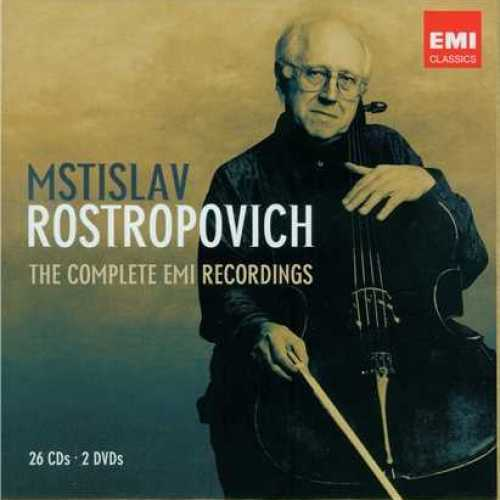 Mstislav Rostropovich - The Complete EMI Recordings (26 CD box set, APE)