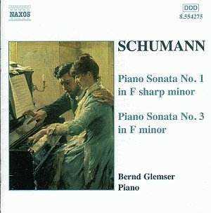 Bernd Glemser: Schumann - Piano Sonatas no.1,3 (FLAC)
