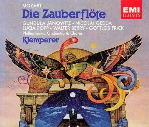 Otto Klemperer: Mozart - Die Zauberflote (2 CD, APE)