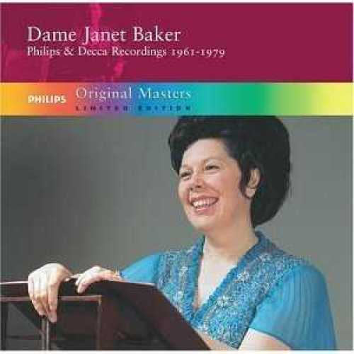 Dame Janet Baker Philips and Decca Recordings, 1961-1979 (5 CD box set, FLAC)