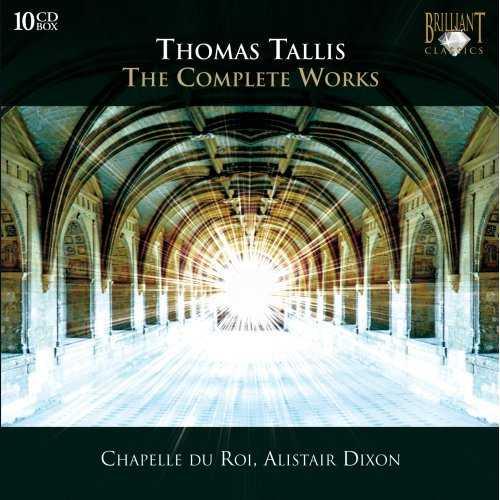 Thomas Tallis - The Complete Works (10 CD box set, FLAC)