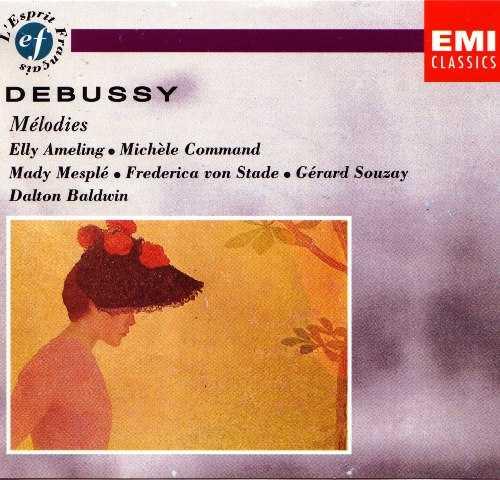 Debussy - Mélodies (3 CD, APE)