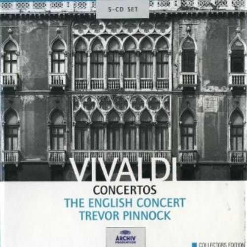 Pinnock, The English Concert: Vivaldi - Concertos (5 CD box set, FLAC)