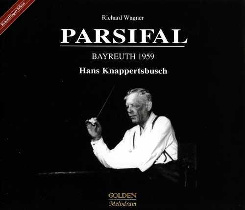 Knappertsbusch: Wagner – Parsifal, Bayreuth 1959 (4 CD, APE)