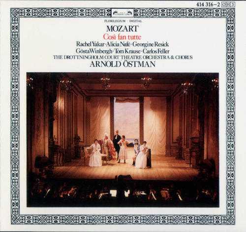 Ostman: Mozart - Cosi Fan Tutte (3 CD, FLAC)