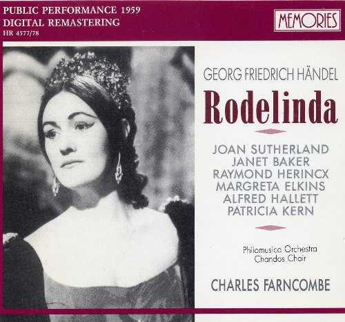 Farncombe: Handel - Rodelinda (2 CD, APE)