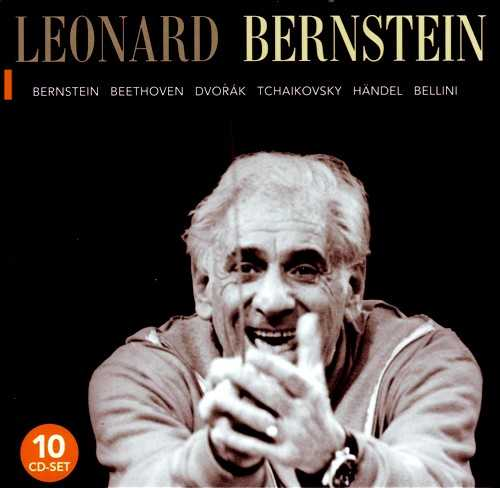 Leonard Bernstein - Composer and Conductor (10 CD, FLAC)