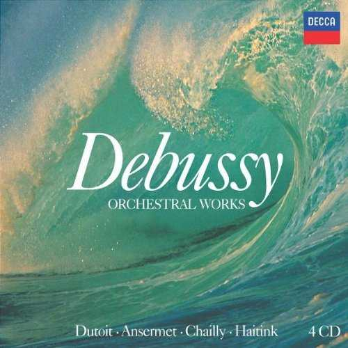 Debussy - Orchestral Works (4 CD box set, FALC)