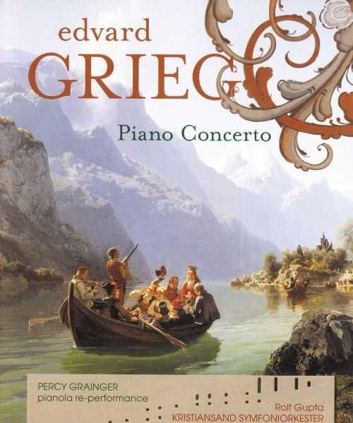 Grainger: Grieg - Piano Concerto (Blu-Ray Audio)