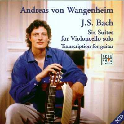 Wangenheim: Bach - Six Suites for Violoncello Transcribed for Guitar (2 CD, APE)