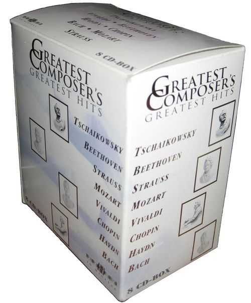 Greatest Composer's Greatest Hits (8 CD box set, FLAC)