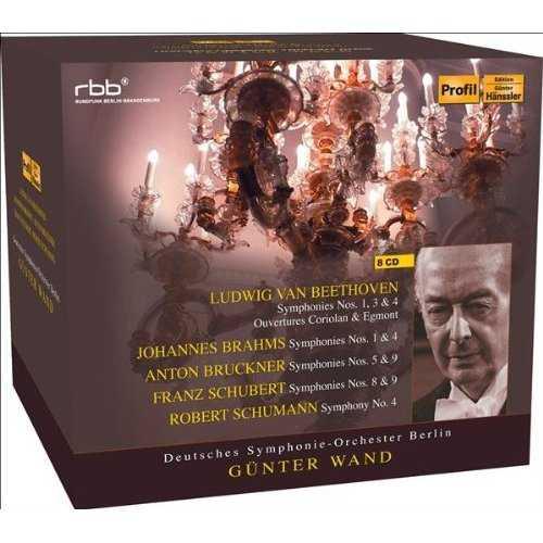 Günter Wand und Deutsches Symphonie-Orchester Berlin (8 CD box set, APE)