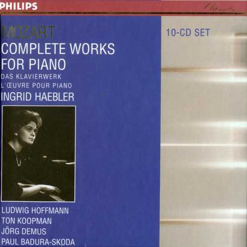 Haebler: Mozart - Complete Works for Piano (10 CD box set, APE)