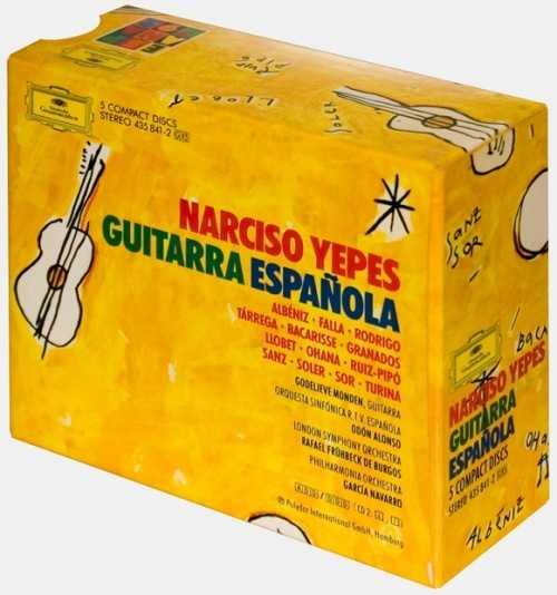 Narciso Yepes - Guitarra Espanola (5 CD box set, APE)