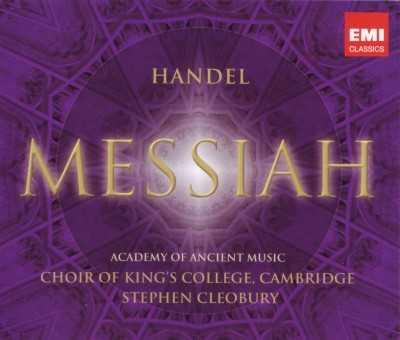 Cleobury: Handel - Messiah (2 CD, FLAC)