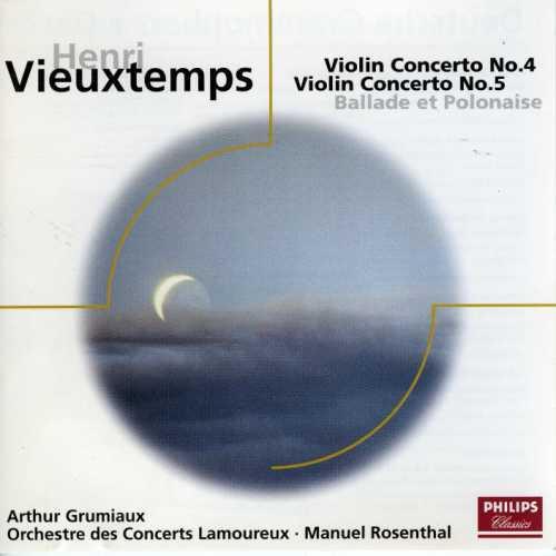 Grumiaux: Vieuxtemps - Violin Concertos no.4,5, Ballade et Polonaise (FLAC)